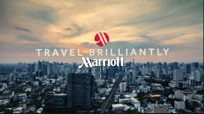 Marriott Travel Brilliantly Campaign